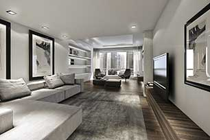 Interior design service by LUXHABITAT